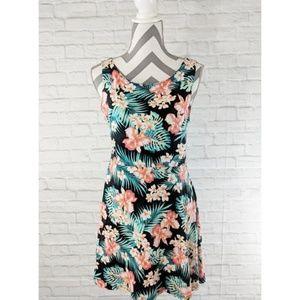 PINK Victoria's Secret Tropical Skater Dress